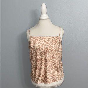 Victoria's Secret Intimates & Sleepwear - Victoria's Secret Leopard Print Cami XL NWT